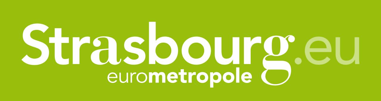 Logo de l'Eurométropole de Strasbourg, partenaire du SSHB