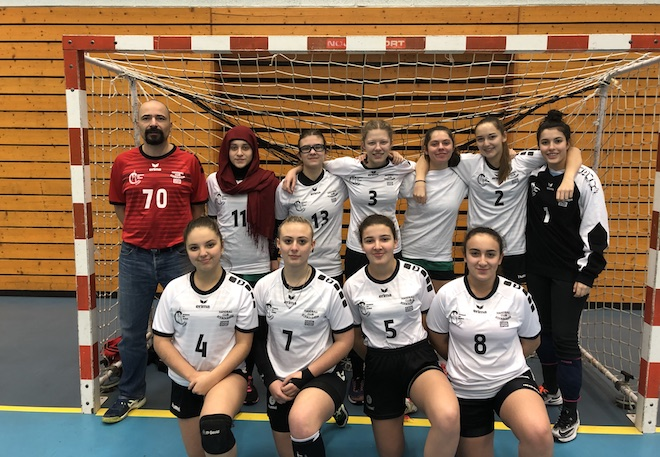 équipe féminine moins de 18 du SSHB