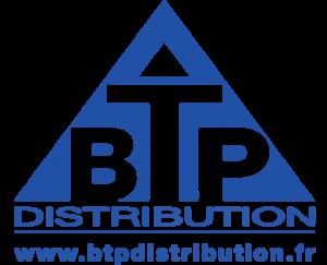 Logo de BTP Distribution, partenaire du SSHB