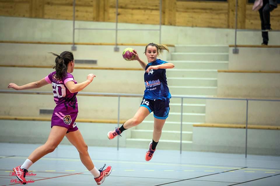 Joueuse handball neudorf
