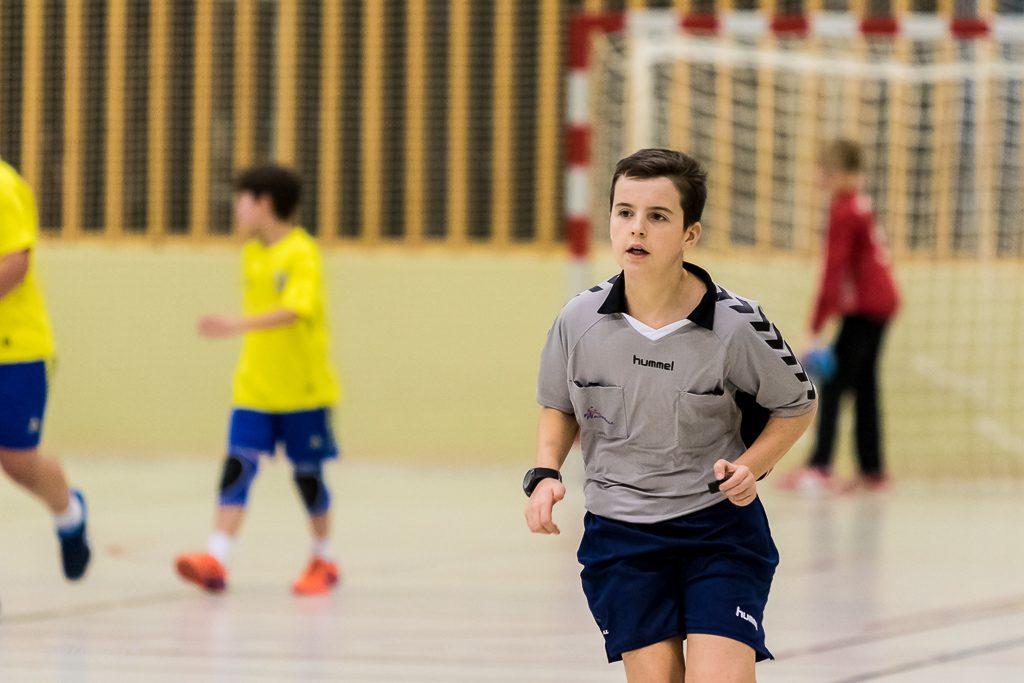 Junger SSHB-Schiedsrichter