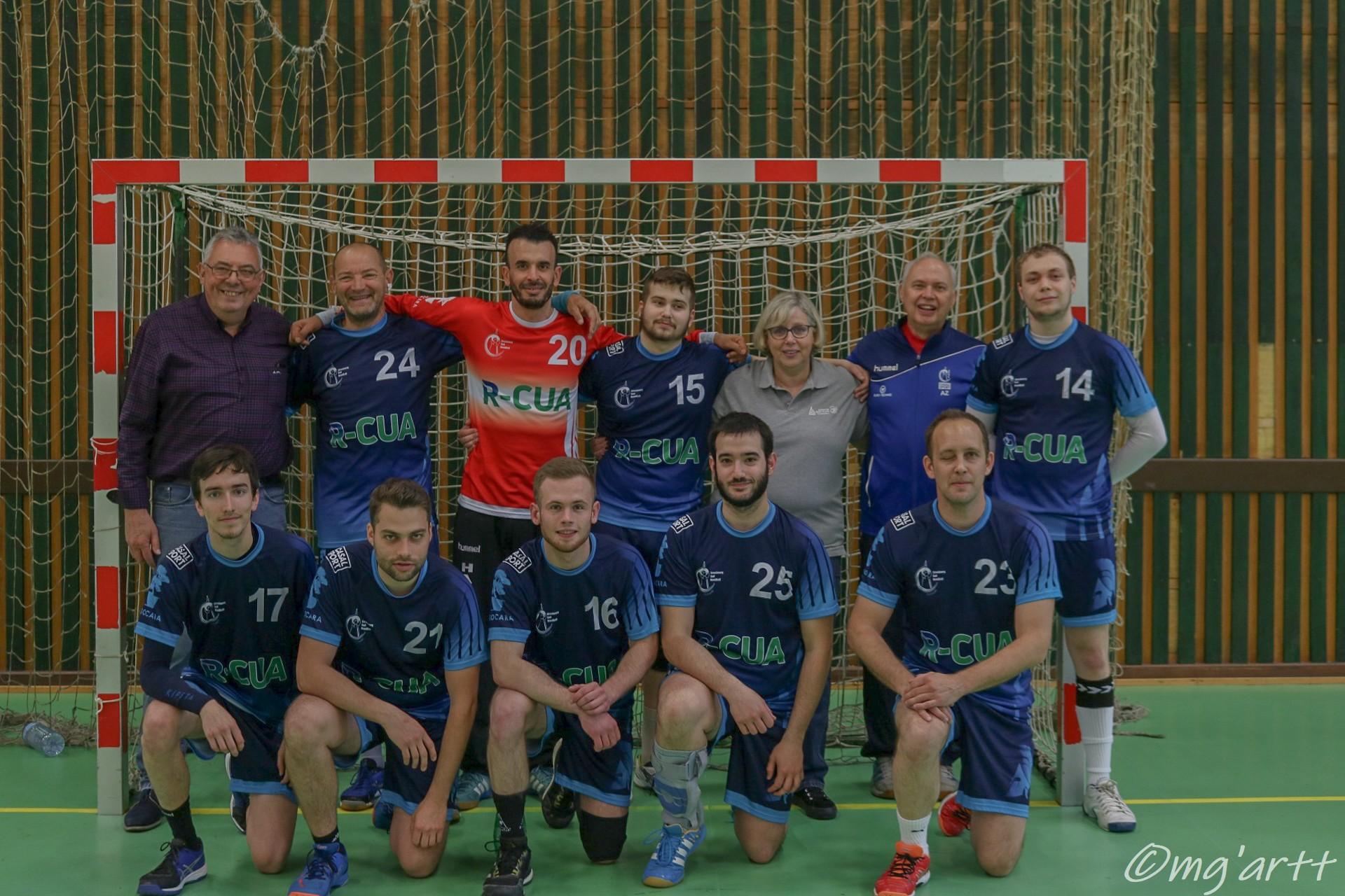 équipe sénior masculins 2 du SSHB