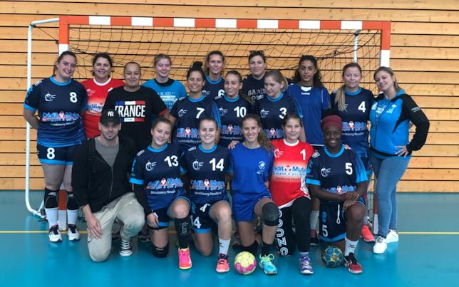 Frauen-Seniorenmannschaft des Vereins Strasbourg Sud Handball