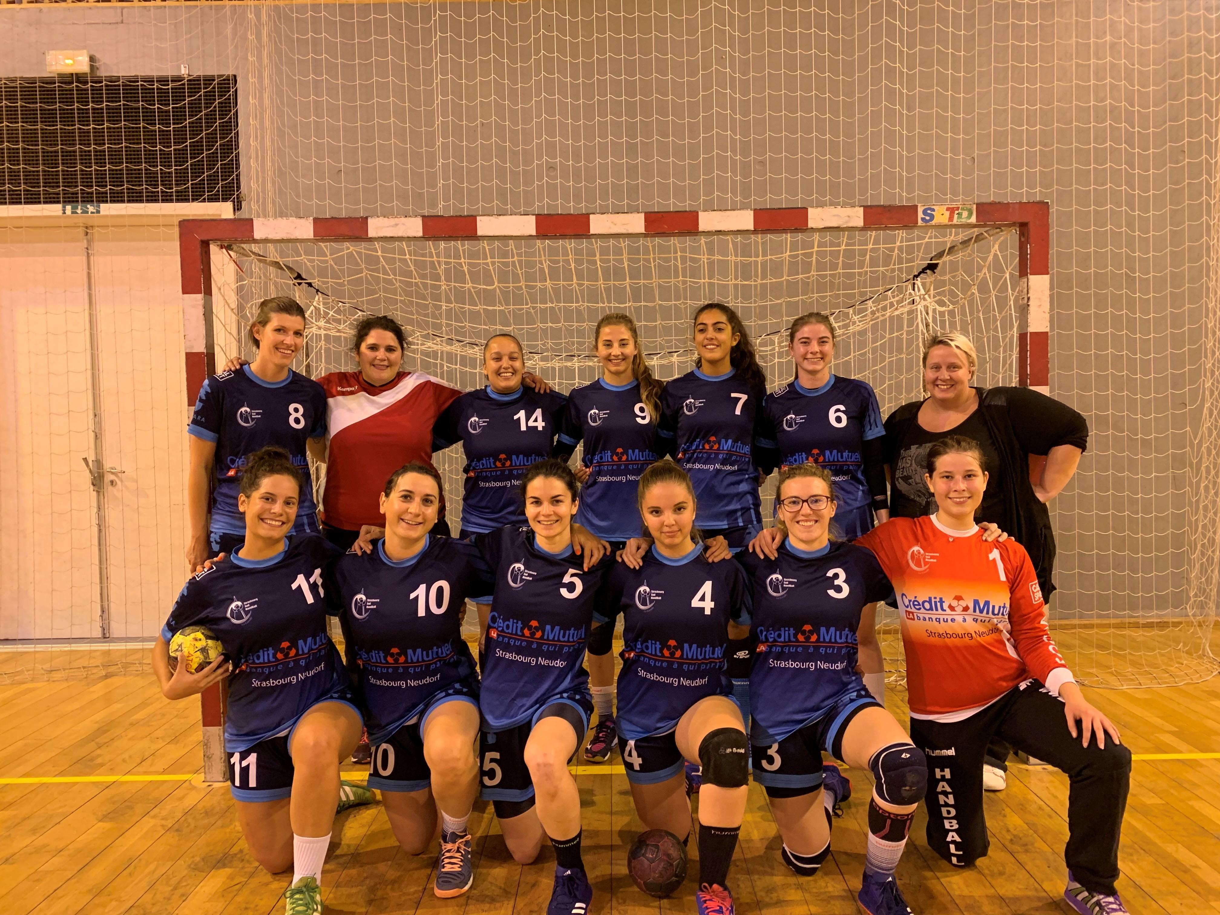 Équipe SSHB des séniors féminines 2