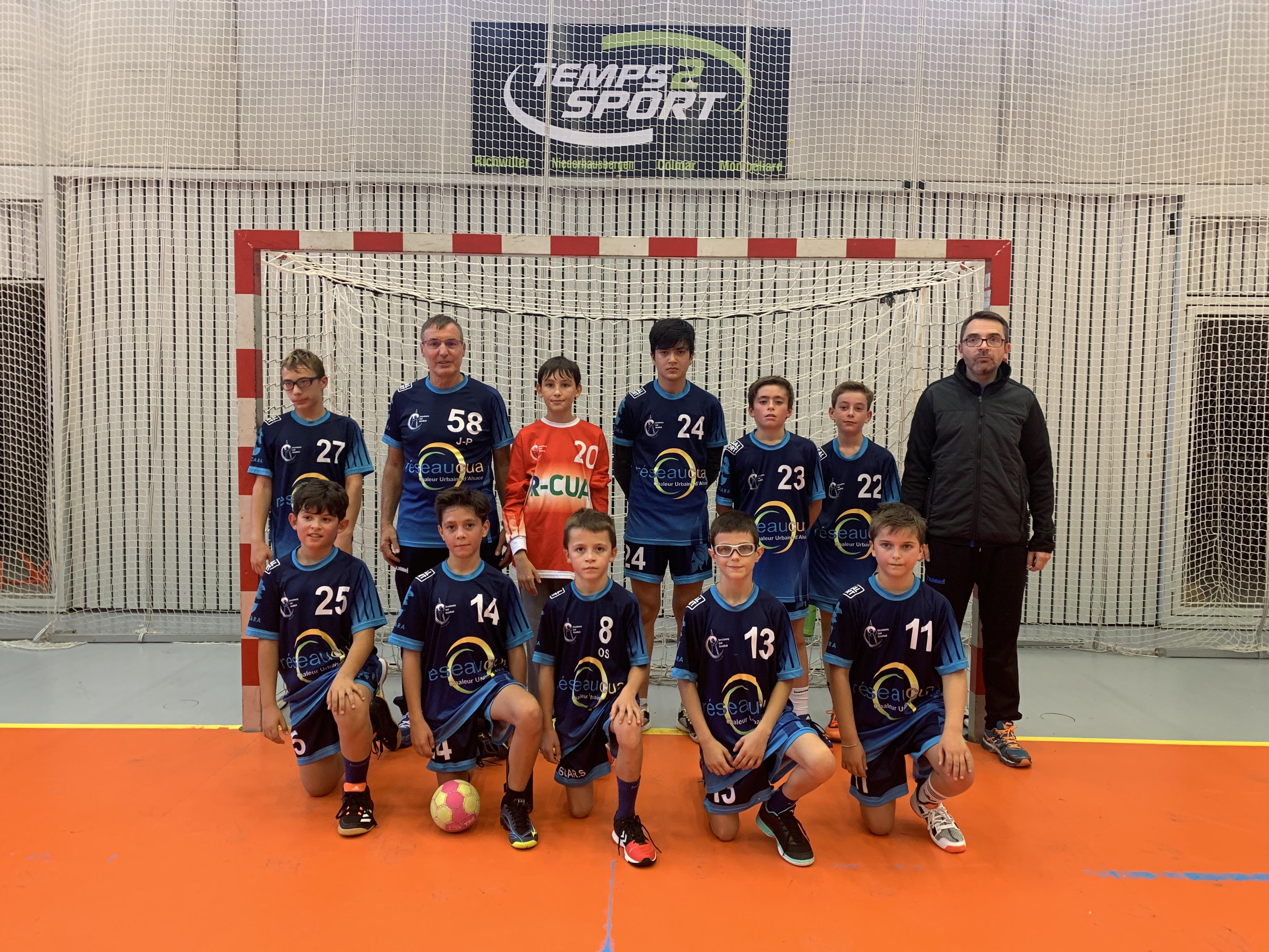 Équipe SSHB des moins de 13 masculins