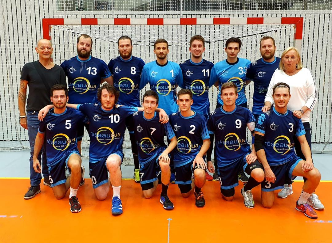 Equipe sénior masculins du Strasbourg Sud Handball