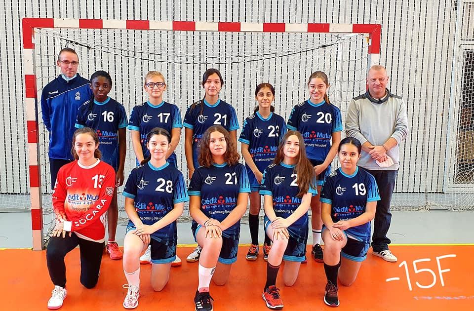 équipe moins de 15 ans féminines du SSHB