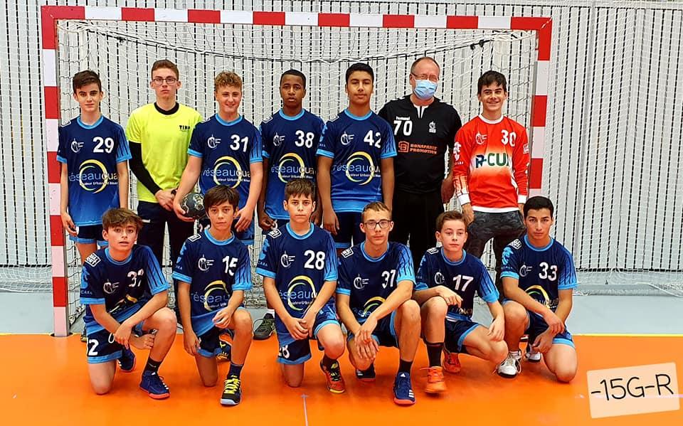équipe des moins de 15 ans masculins du SSHB
