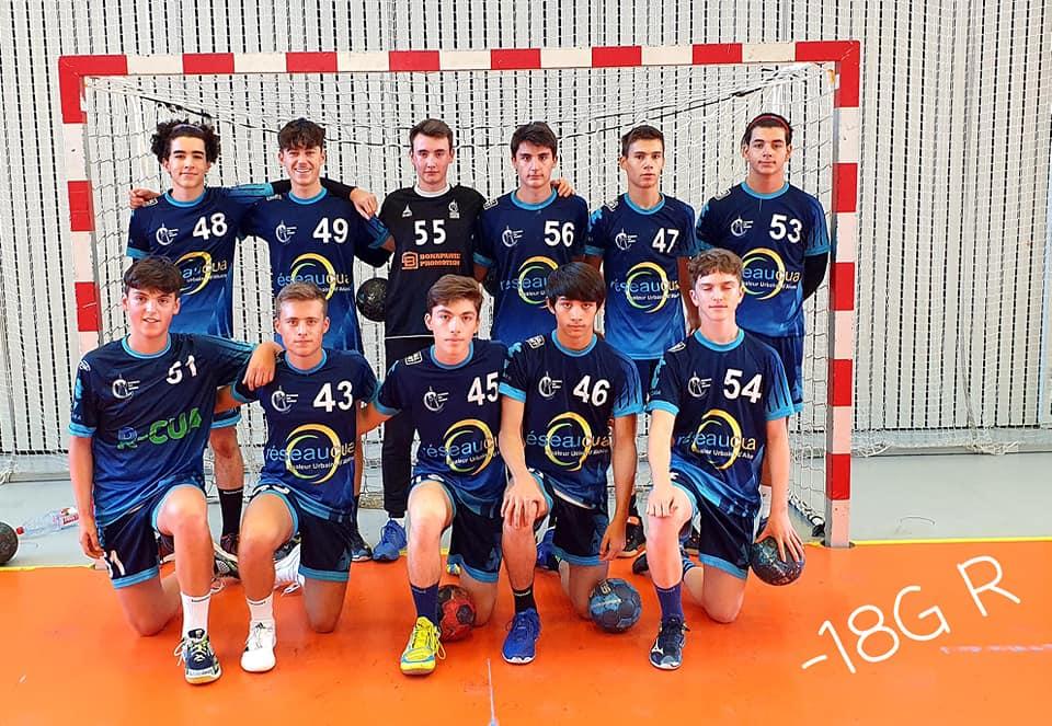 équipe moins de 18 ans masculins du SSHB