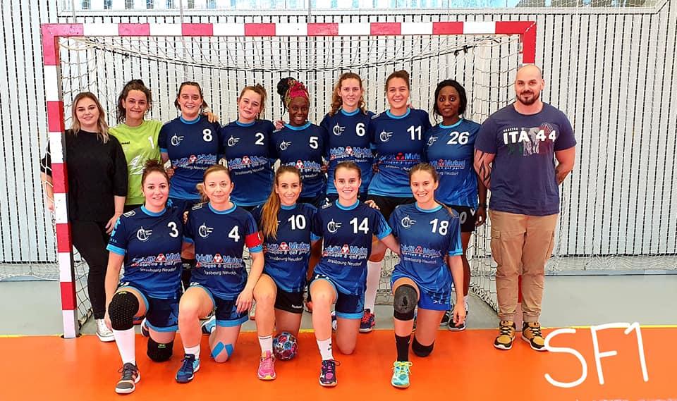 Équipe SSHB des séniors féminines 1